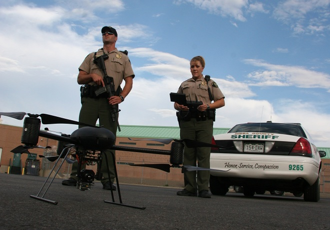 DragonFlyer X6  Photo : Mesa County Sheriff's Office