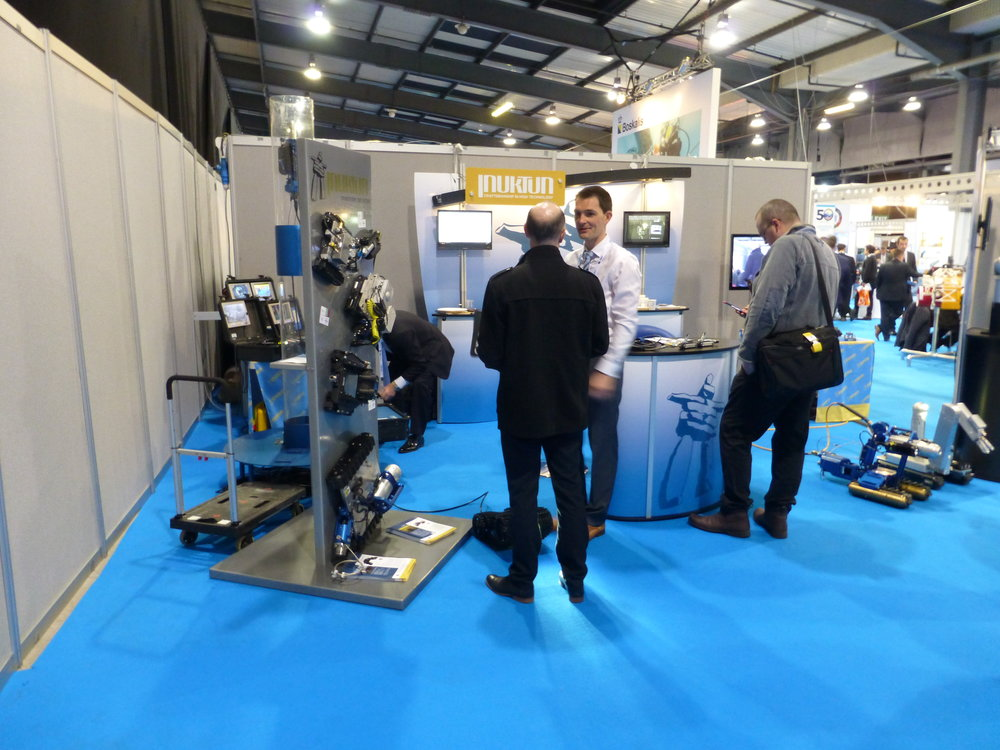 Julien Exhbiting at SubSea Expo