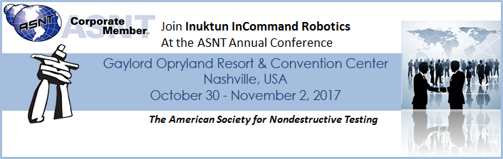 Inuktun at ASNT Annual Conference 2017