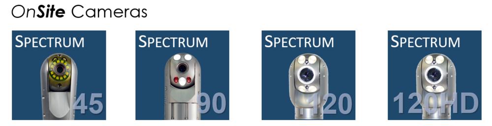 Inuktun Spectrum™ Camera Line