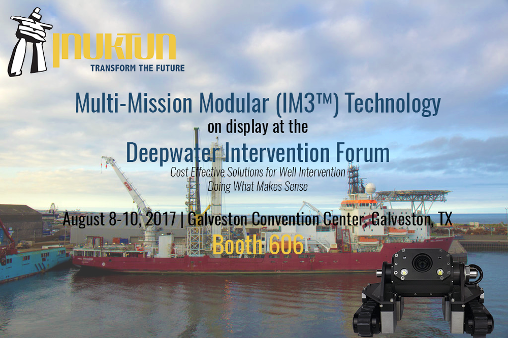 Inuktun at Deepwater Intervention Forum 2017