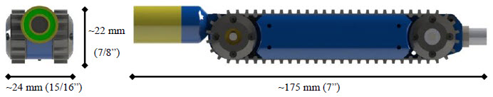 Figure 5 Picotrac™ Module - Nominal Dimensions
