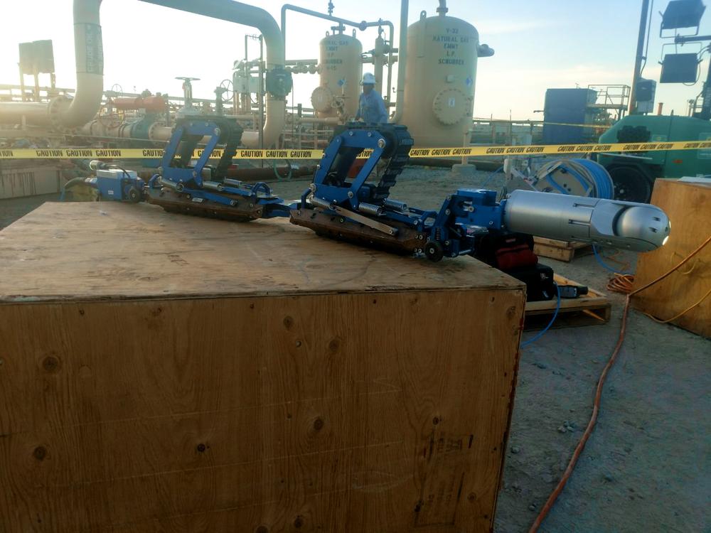 Inuktun Versatrax 150™ Pipe Inspection Vehicle