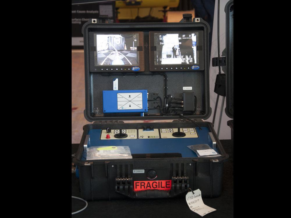 Versatrax 150™ Controller in a Pelican® Case