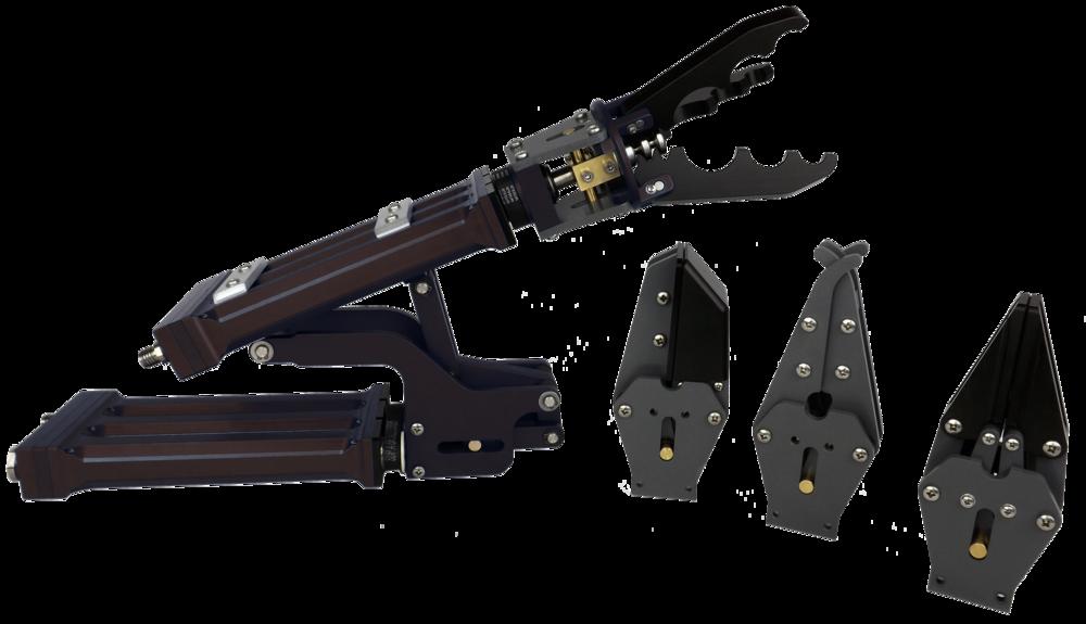 Inuktun Manipulator with optional jaw sets