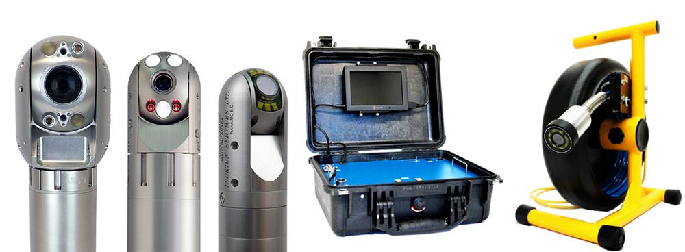 Inuktun Spectrum™ Inspection Cameras and CCII Crystal Cam® Diamond Push Camera