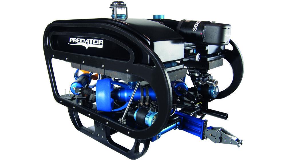 Seatronics Predator Elite ROV with Inuktun Manipulator