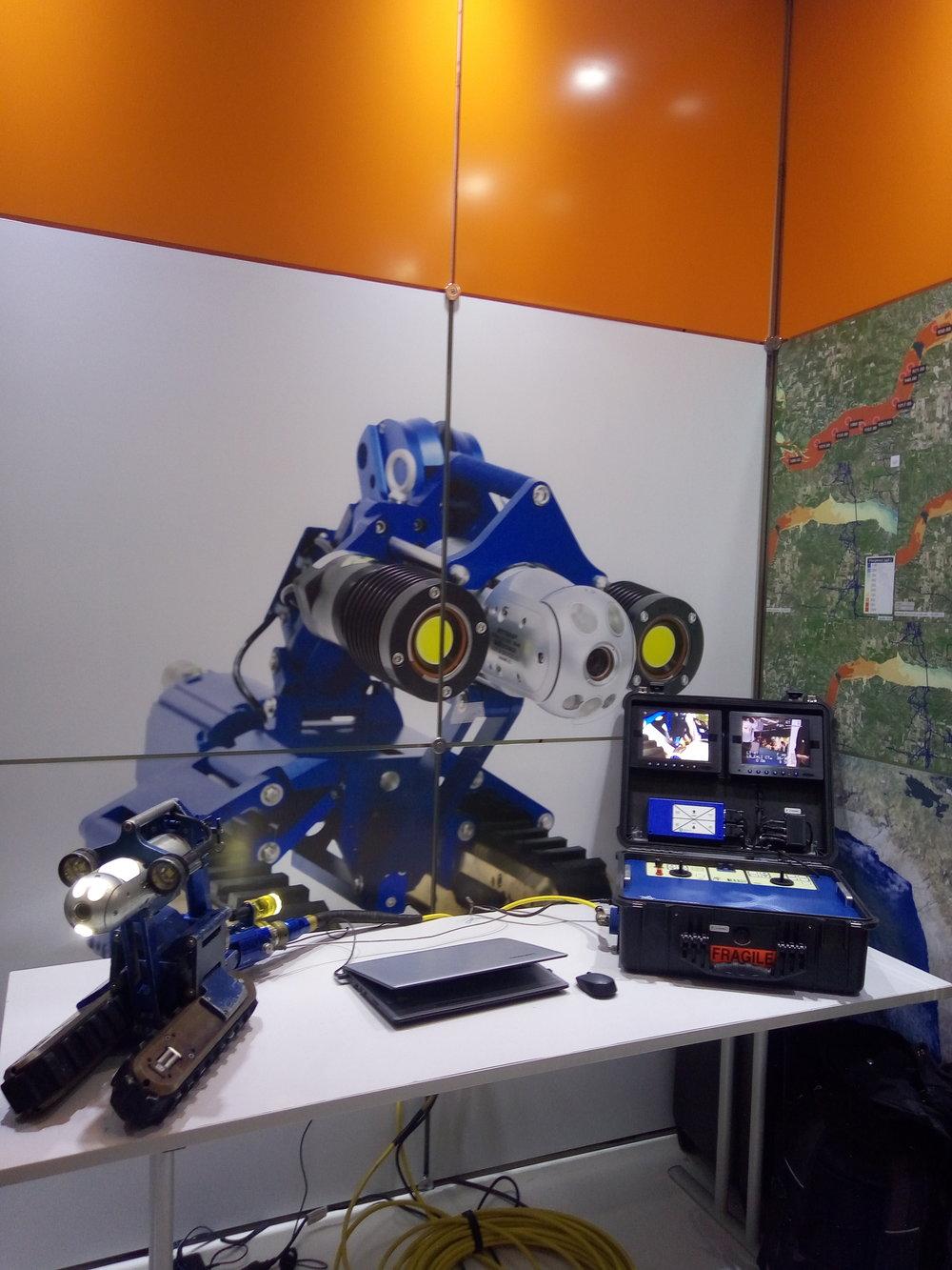 Inuktun Versatrax 150™ Crawler