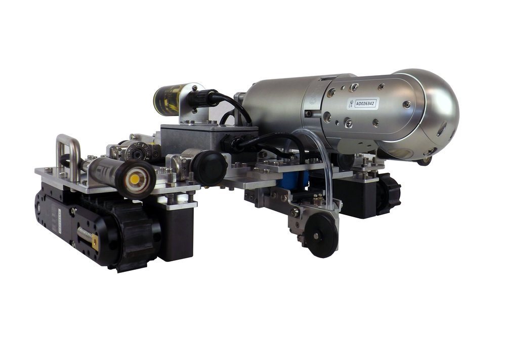 Inuktun Versatrax 100™ Mark II Spectrum 90™ and Ultrasonic Testing (UT) Configuration Option