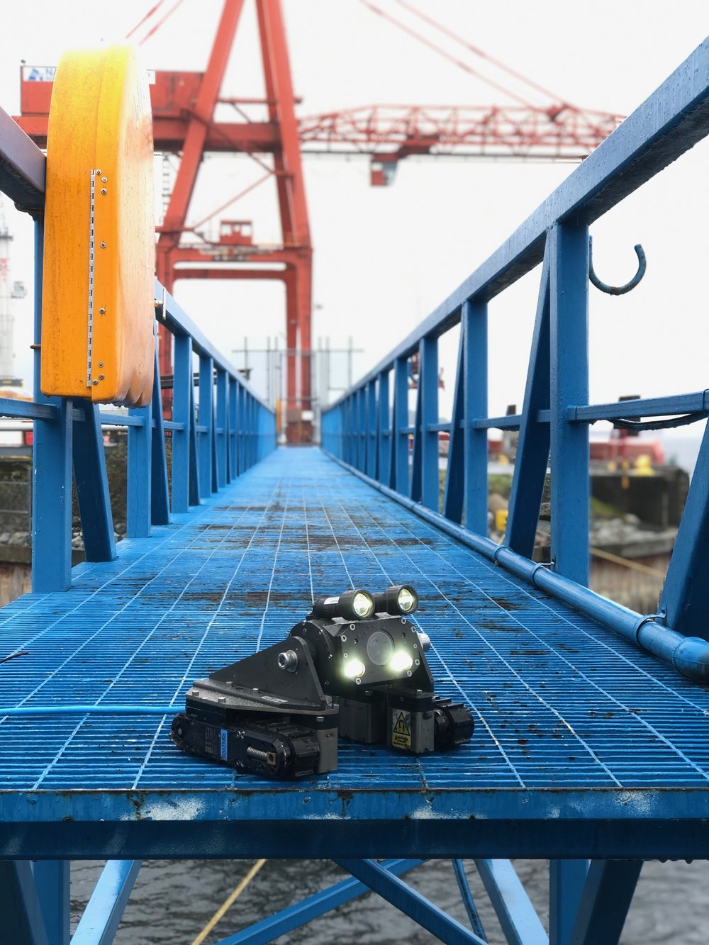 MaggHD™ miniature magnetic crawler for subsea operations