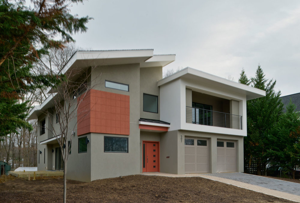 Home with Structurally Insulated Panel System — Arlington Designer
