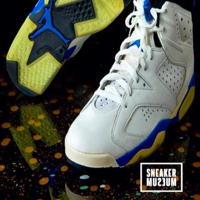 August 30th. The comeback of the AJ VI 'Sport Blue'. #SneakerMuseum #OGs #IgSneakerCommunity #RicksKicks
