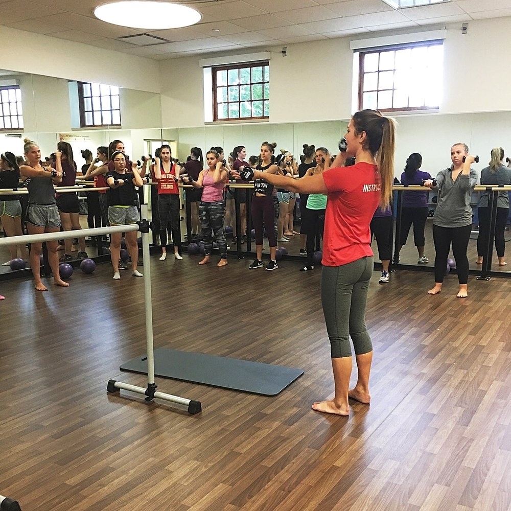 The Launch of a Barre Program