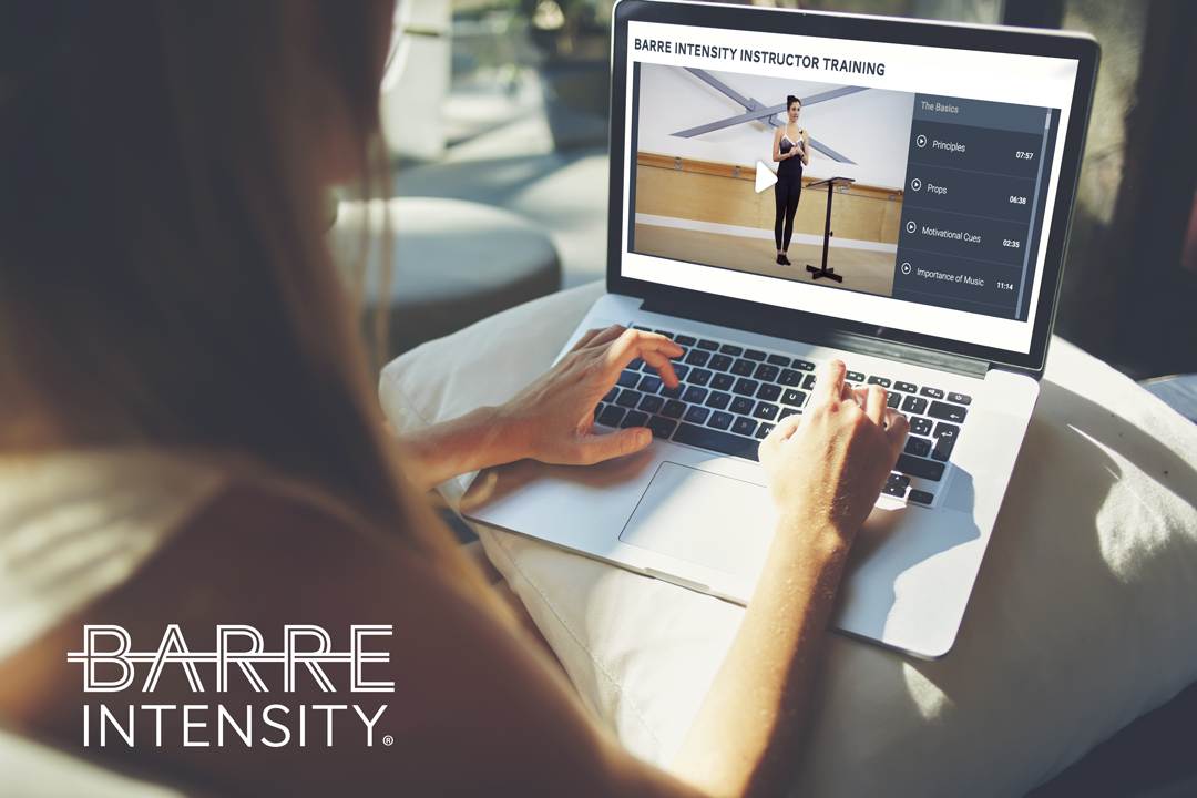 Barre Intensity Instructor Training And Certification Barre