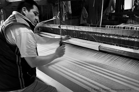 Loom in action II Nikon D3s, 24-70 zoom @40mm, ISO 320, 1/15 sec @ f/8.0