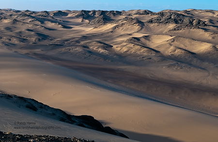 Sunrise in the Dunes of Namibia Nikon D300, 17-55mm VR at 38mm, ISO 200, f/10 at 1/100 sec
