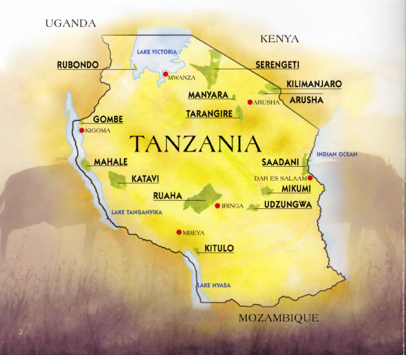 Parks of Tanzania