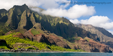 Fingers of the Na Pali Coast