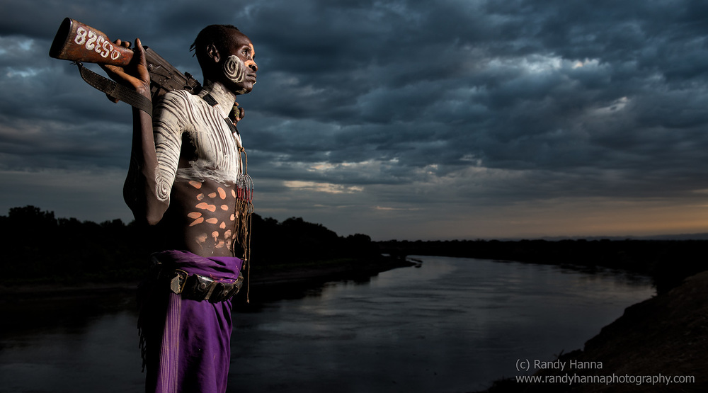 Along the banks of the Omo River