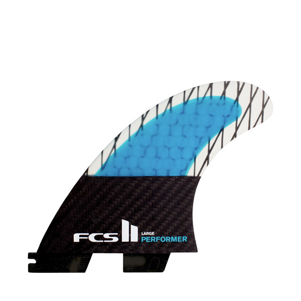 FCS II Performer Carbon Tri Fin Set - Medium