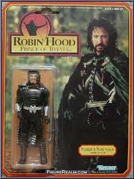 Allen Rickman's action figure looking like a boss as the evil Sheriff of Nottingham.