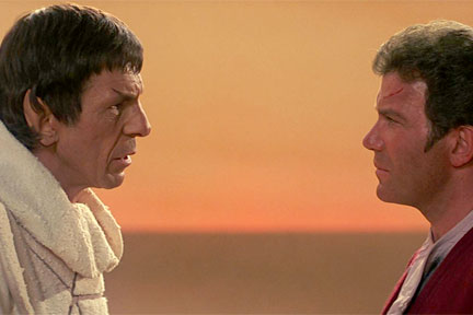 Reunited. Star Trek III: The Search for Spock
