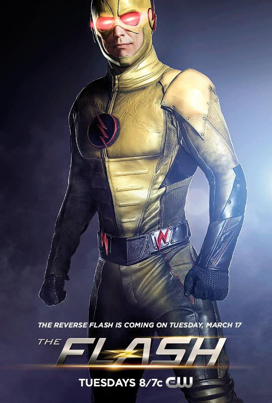 Yellow is the New Bad. Tom Cavanagh as Reverse Flash.