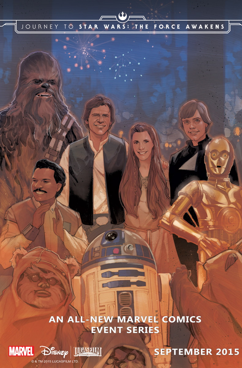 Journey to Star Wars: The Force Awakens by Phil Noto. Marvel Comics.