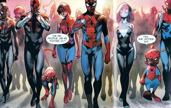 Superior Spider-Man Recap and Spider Verse Review — Kronos ... Ultimate Spider Man Peter Parker Costume