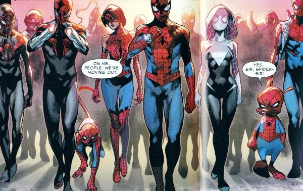 spider versecomic identi