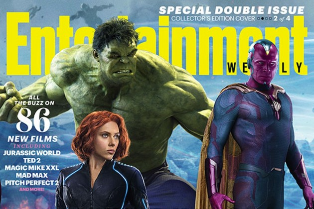 Entertainment Weekly gives us our first look at Vision.