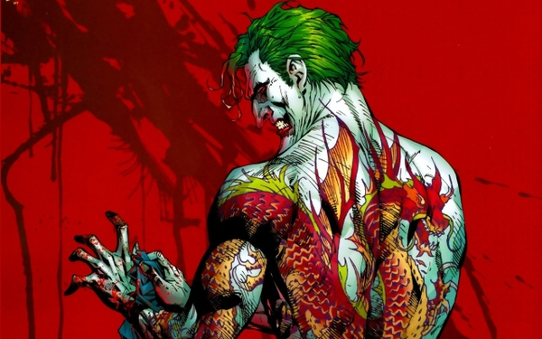 That one time when the Joker rolled with the Yakuza...