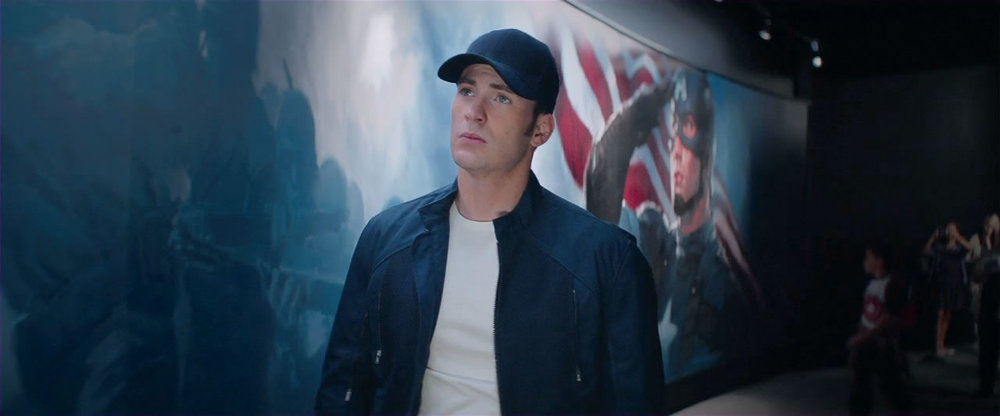 Chris Evans returns as Steve Rogers in Captain America: The Winter Soldier.