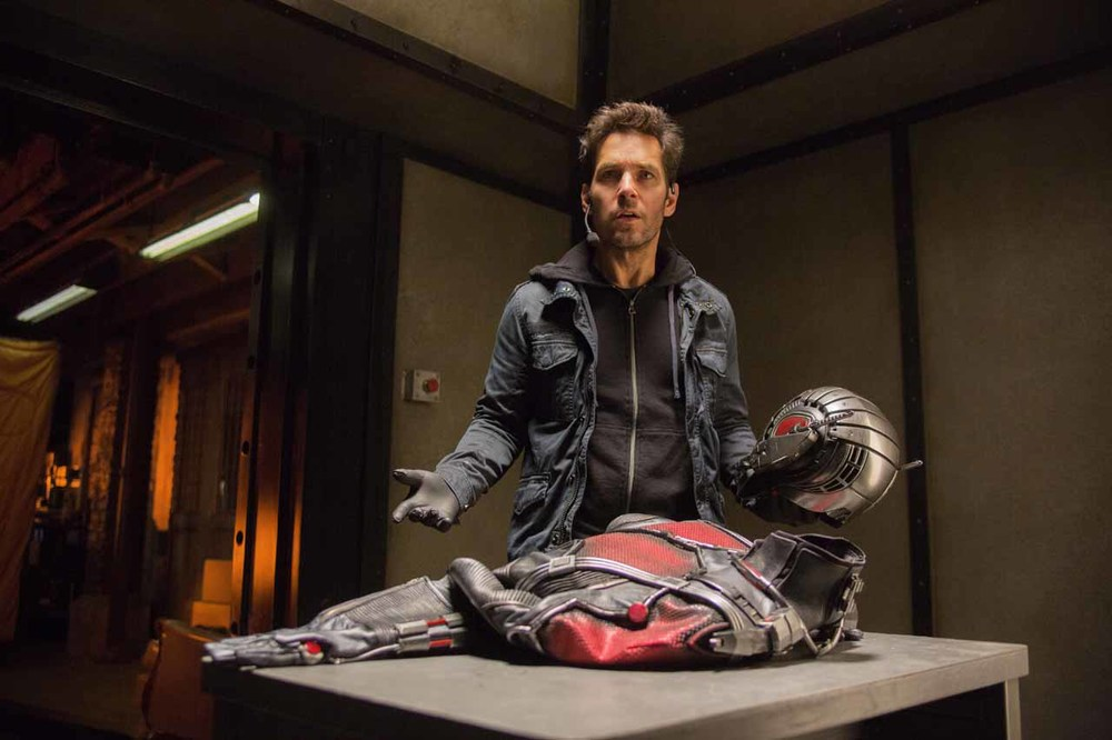 Paul Rudd as Scott Lang/Ant-Man. Marvel Studios.