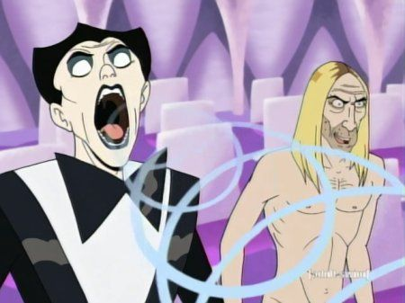 You also get to see cartoon versions of  Klaus Nomi and Iggy Pop