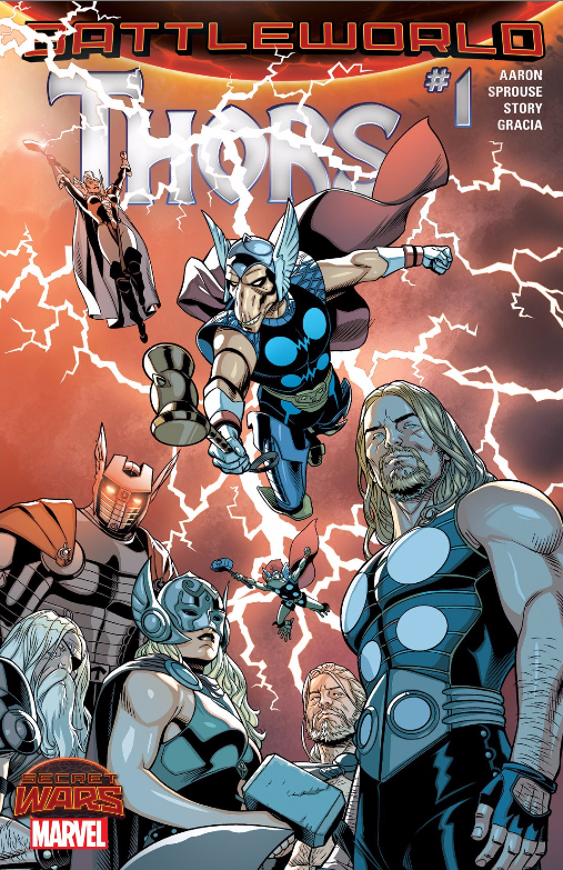 Thors Issue #1 Cover: Courtesy of Marvel Comics
