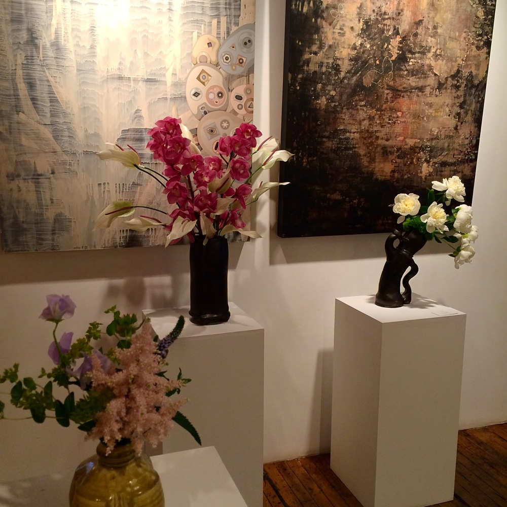 Check out the stunning Spruce arrangements at our second ArtPlusOne event!