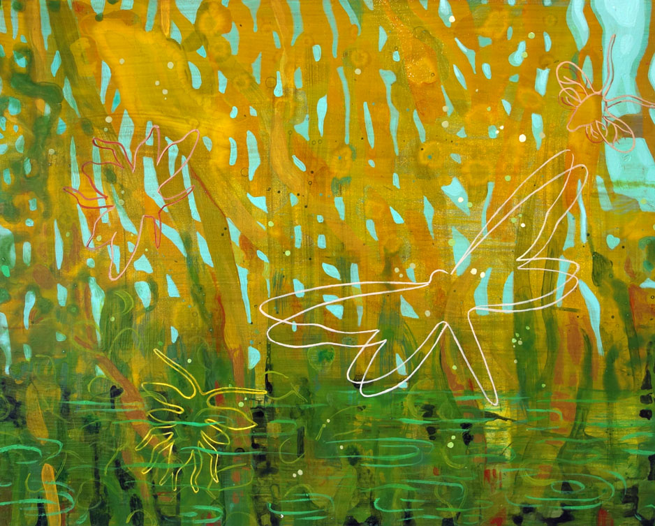 Tiny Thicket Marsh - Study