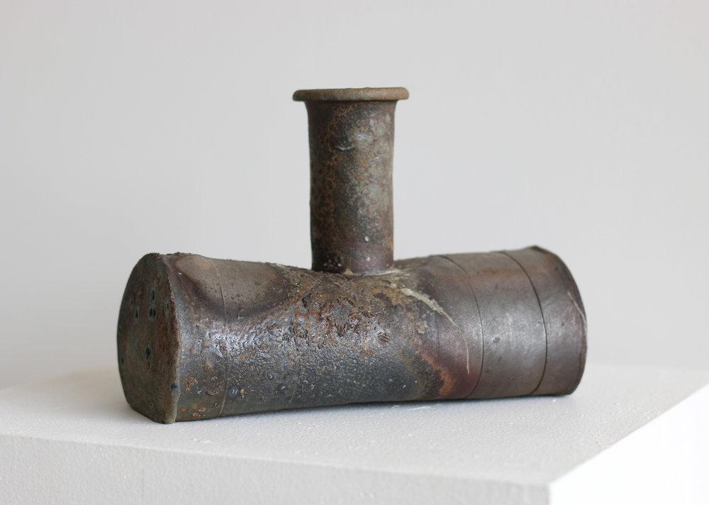 Drop Vase with Horizontal body and Narrow Neck