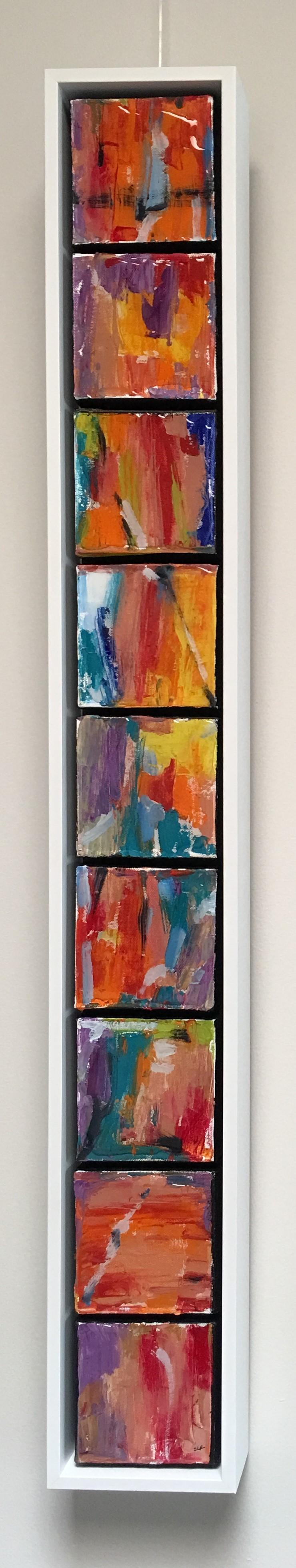 Mediterranean Frieze - 9 panels
