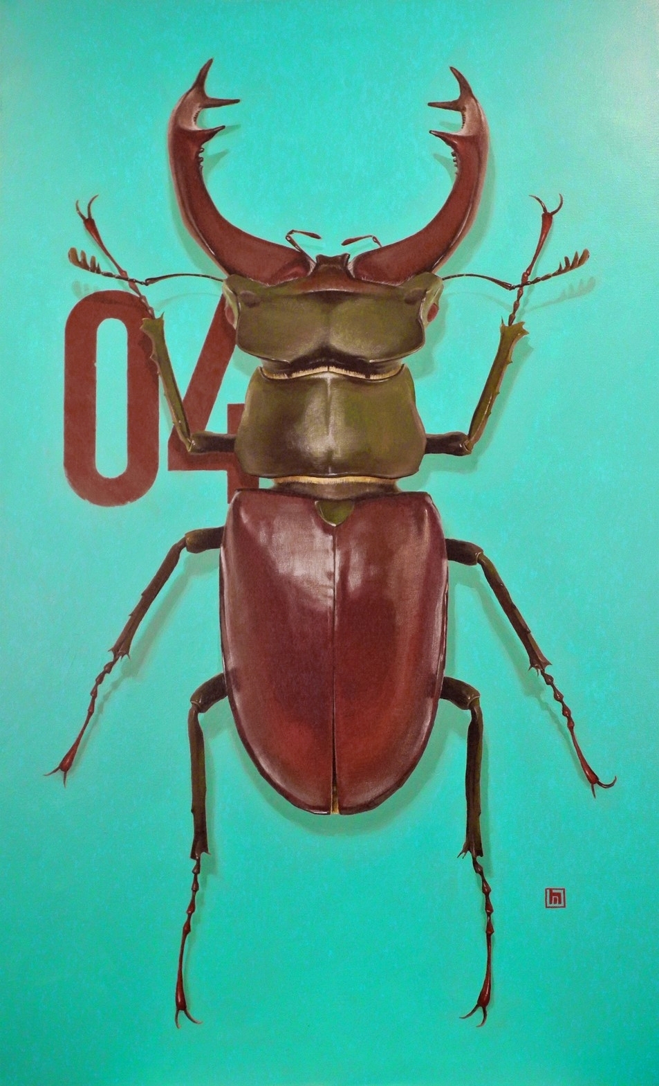 #4 Stag Beetle