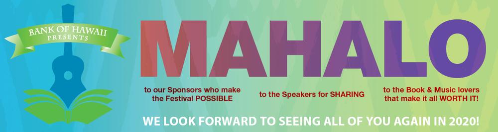 Hawaii Music Festival 2020 Hawaiʻi Book & Music Festival