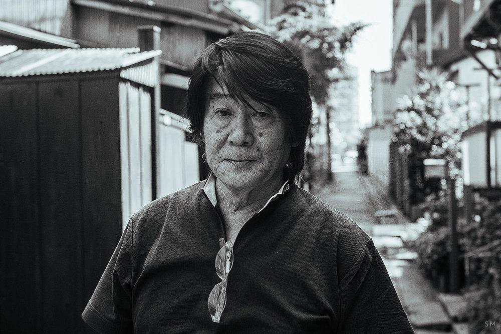 —18. Daido Moriyama, portrait.
