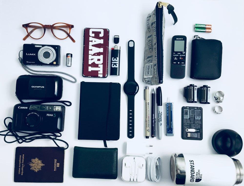 — 01. My essentials