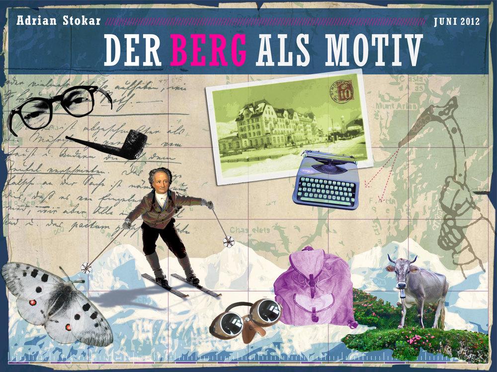 Der Berg als Motiv  – 12 Literarische Geschichten rund um den Berg.