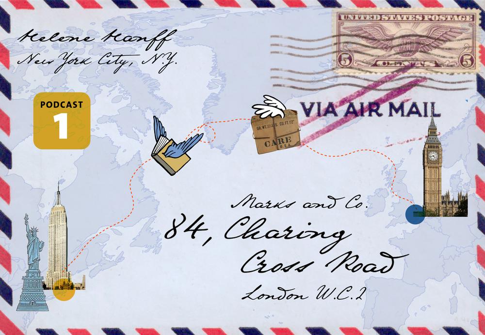 Charing Cross Road  – Ein Briefwechsel im 2. Weltkrieg in 12 Etappen.