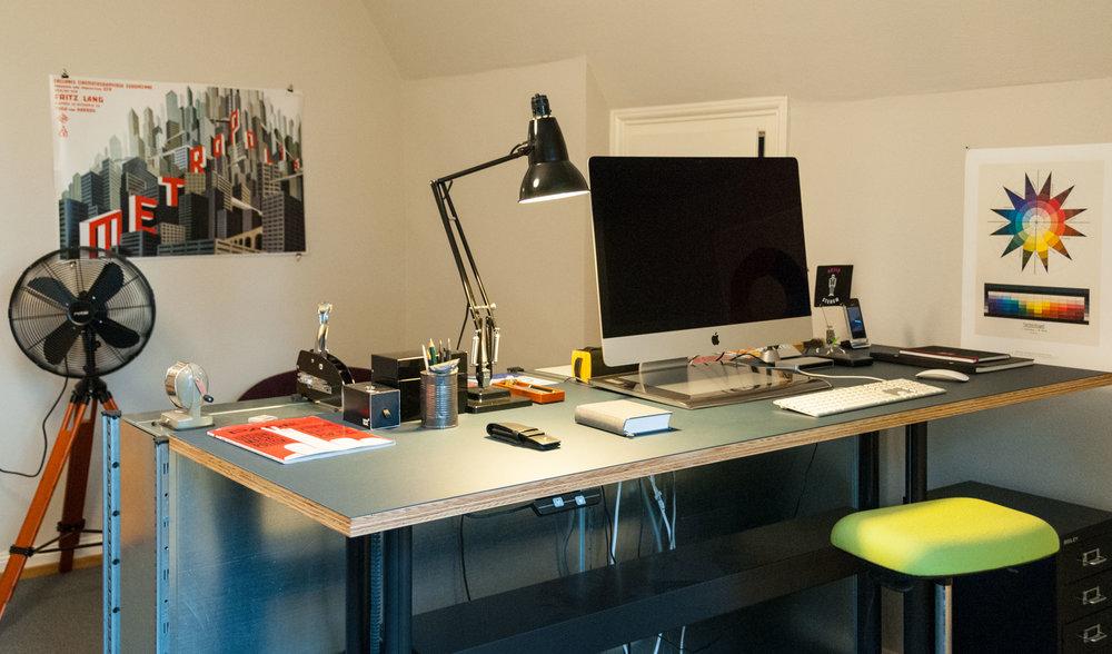 JoosWolfangel - im Atelier