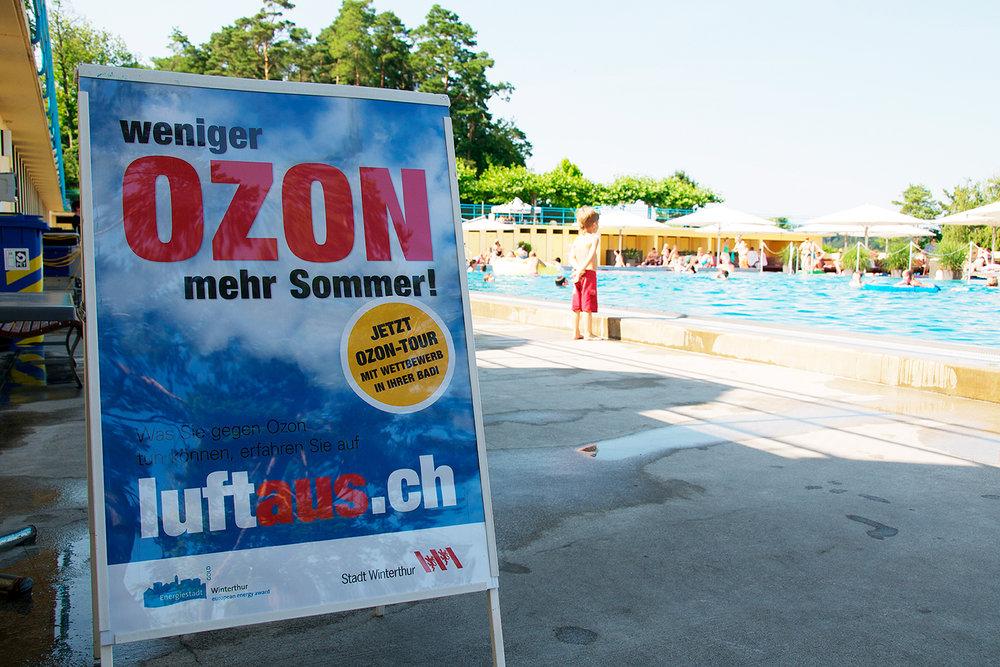 Sommer-Aktion im Schwimmbad