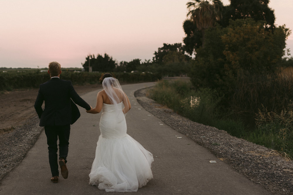 California Wedding private venue bride and groom pictures