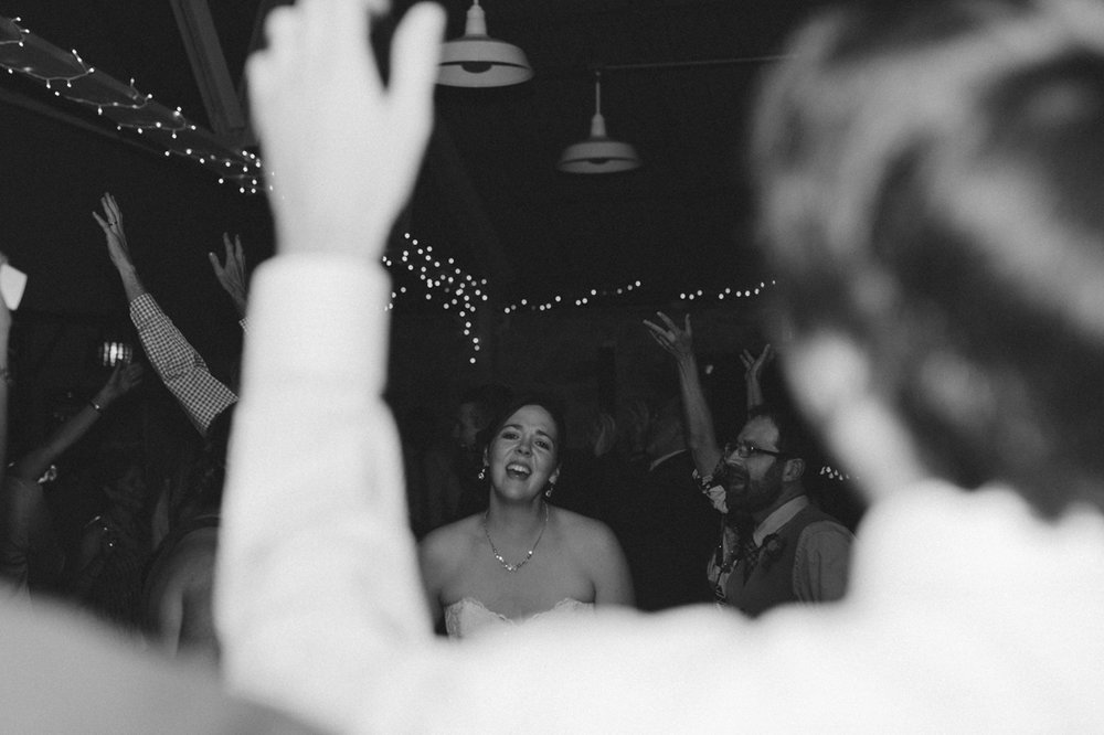 Galena Creek Hatchery bride singing photo